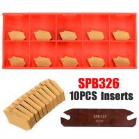 SPB26-3 26mm Parting Grooving Cut-Off Tool Holder + 10pcs GTN-3 SP300 Inserts AU