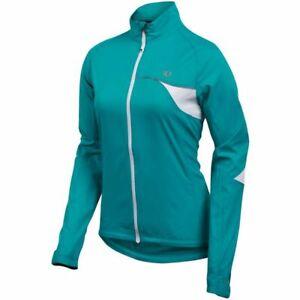 Pearl Izumi Elite Womens Lightweight Barrier Jacket XS Peacock Running Cycling
