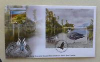 2016 NEW ZEALAND HABITAT DUCKS $10 RATE MINI SHEET FDC FIRST DAY COVER