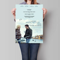 Manchester by the Sea Movie Poster 2016 Casey Affleck 16.6 x 23.4 in (A2)