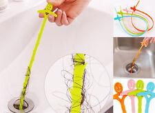 Kitchen Sink Cleaning Hook Bathroom Floor Drain Sewer Dredge Device Tool NX86