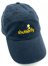 9957f9f22ab SHUTTERFLY blue adjustable cap   hat -- by Lands End