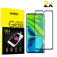2X KS For Xiaomi Mi Note 10/Note 10 Pro 3D Full Cover Glass Screen Protector