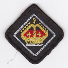 SCOUTS OF BELIZE - QUEEN'S SCOUT National Highest Rank Top Award Patch