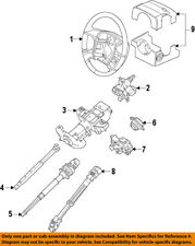 FORD OEM Steering Column-Lower Shaft 8L1Z3B676A