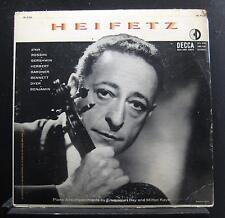 Heifetz - Piano By Emanual Bay And Milton Kaye LP VG DL 9760 1st Mono Vinyl