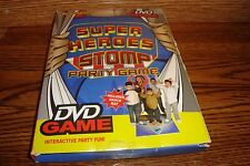 Drew's Famous Super HEROES Stomp Party DVD Game Software + Dance Mat * New