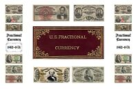 "Book Fractional Currency all designs 5-1/2""X8-1/2"""" Wire Bound"