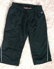 Nike VTG Red Tag Crop Pant Long Shorts The Athletic Dept. Lined Black White XS