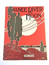 """Vintage """"Swanee River Moon"""" Sheet Music Dated 1921"""