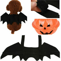 Halloween Bat Wings For Small Pet Dog Cat Puppy Costume Cosplay Black Dress-up