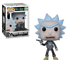Pop Animation! Rick and Morty Series 4 Prison Break Rick #339 Funko in-stock