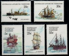 AAT - 1979  ANTARCTIC SHIPS Stage 1 - MUH SET OF 5