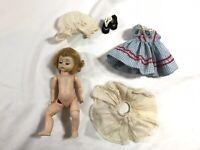 "Vintage 1950s 8"" Madame Alexander-kins Red Riding Hood BKW Doll"