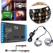 2*50CM LED USB TV Hintergrund-Beleuchtung Backlight Licht-Band Stripes Streifen
