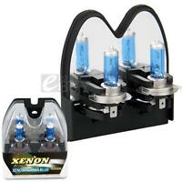 2 H7 6000K Xenon Halogen Headlight Head Light Lamp Bulbs 100W