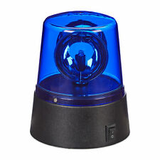 LED Blaulicht Rundumleuchte Warnleuchte batteriebetrieben Partybeleuchtung blau