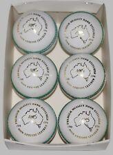 6 AMS Leather 4 Piece Premium Quality Cricket Balls