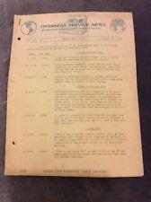 Overseas Service News - National Cash Register Co. - Jan 31 1938