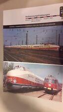 Eisenbahn Archiv Diesel Lok  Datenblatt Karte 43 Baureihe VT 18 175 Baujahr 1963