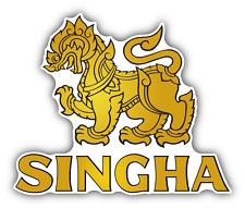 "Singha Beer Thai Drink Car Bumper Sticker Decal 5"" x 5''"