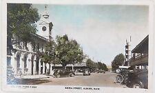 .c1940's THE ROSE SERIES P8543 COLOUR POSTCARD. KIEWA STREET, ALBURY NSW