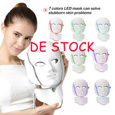 Facial Gesicht LED Maske Verjüngung Lichttherapie reduziert Falten 7color Photon