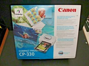 Canon CP-330 Compact Photo Printer PictBridge & battery for mobile new old stock