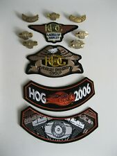 Harley Davidson Pins Patches HOG  Owners Group Ladies Lot