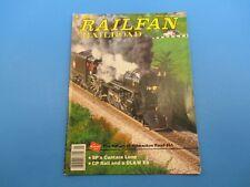 Railfan & Railroad Magazine January 1994 Return of Milwakee Road 261 M2987