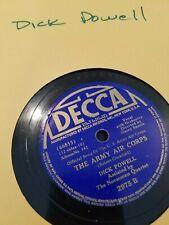 Dick Powell - 78rpm single 10-inch – Decca #2975 The Marines' Hymn