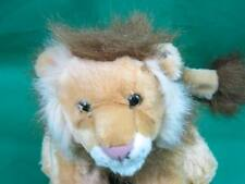 WHILE REPUBLIC FLOPPY BEANBAG LIFELIKE KING OF THE JUNGLE LION PLUSH STUFFED ANI
