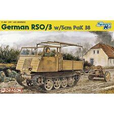 Dragon DRA6684 alemán RSO/03 con 5 cm Pak 38 1/35 escala kit plástico modelo