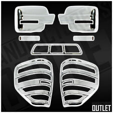 2009-2014 Ford F-150 Chrome Mirror 3rd Brake Light Taillight Cover