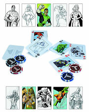 DC Comics Justice League Starter Set Poker Playing Cards & Chip