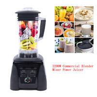 2L Best Fruit Juicer 2200W Heavy Duty Commercial Grade Automatic Timer Blender