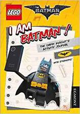 The LEGO® BATMAN MOVIE: I Am Batman! The Dark Knight's Activity Journal (Lego® D