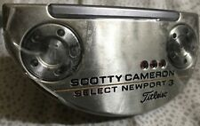 Left-Handed Scotty Cameron 2018 Select Newport 3 Putter - 34 inches