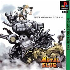Used PS ONE NEO GEO SNK METAL SLUG X  PS 1 SONY PLAYSTATION JAPAN IMPORT