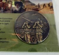 Anzac Medallion AFGHANISTAN The War Against International Terrorism