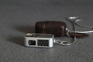 Original Minox A Belichtungsmesser mit Sicherheitsknopflochkette und Etui SELTEN