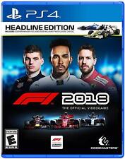 [In Stock] Formula F1 2018 Playstation 4 PS4 Brand New Factory Sealed (ENG Ver.)