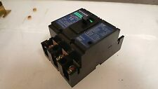Mitsubishi No-Fuse Circuit Breaker NF30-CS, 30 Amp, w/ Covers, Used, Warranty
