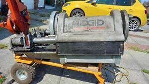 Rigid 1224 Pipe Threading Machine 110v