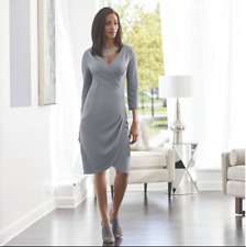 size 14 Dana Sheath Dress Gray by Midnight Velvet new