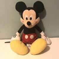 "Vintage Disney Micky Mouse Plush Soft Toy 15"" Tall"