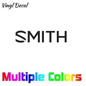 Smith Optics Logo Decal   Vinyl Die Cut Sticker Snowboard Ski
