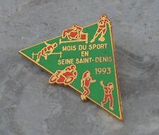 Pin's mois du sport en Seine-Saint-Denis, 1993