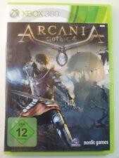 !!! XBOX 360 SPIEL Arcania Gothic 4, gebraucht aber GUT !!!