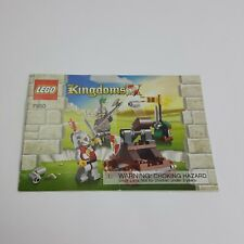 Lego Kingdoms 7950 **MANUAL ONLY**